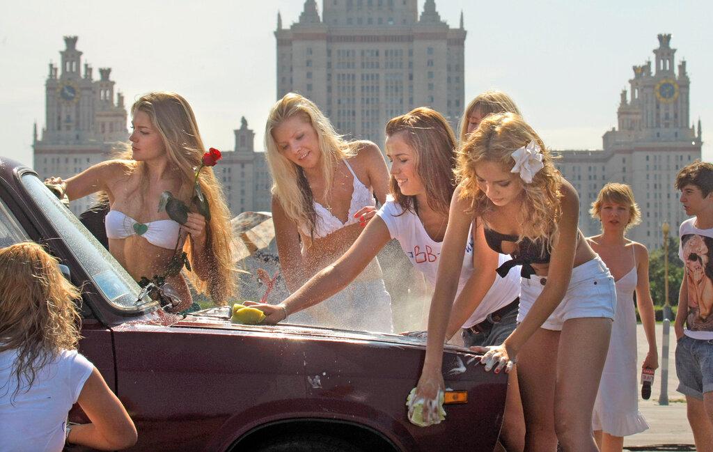 голая московская студентка заметить, что все
