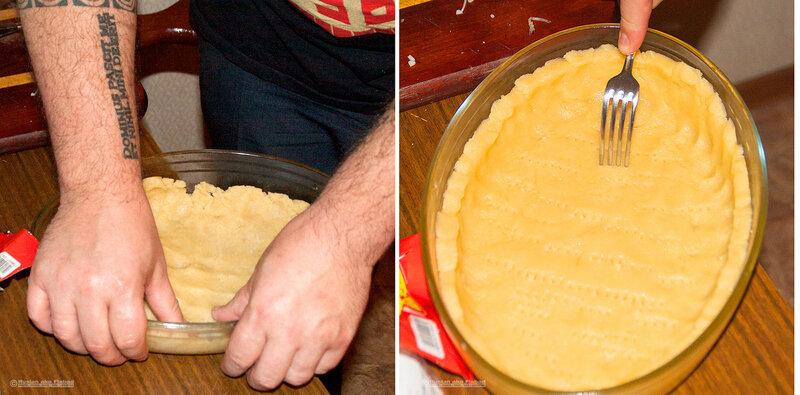 Наш рецепт в фотографиях и описании. Киш. Безумно вкусный, неординарный пирог с индейкой. Подробно!.
