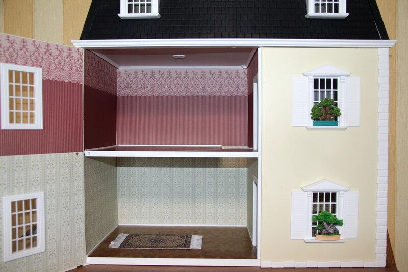 Дом мечты №54 Бежевый ковер