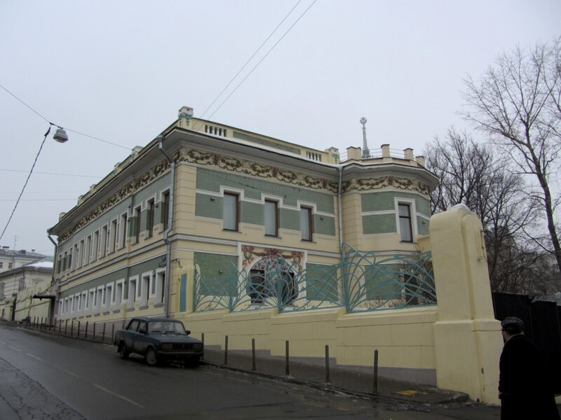 Рюмин переулок 2, 1903 г., арх. А.А.Галецкий Особняк Д.Ф.Беляева.