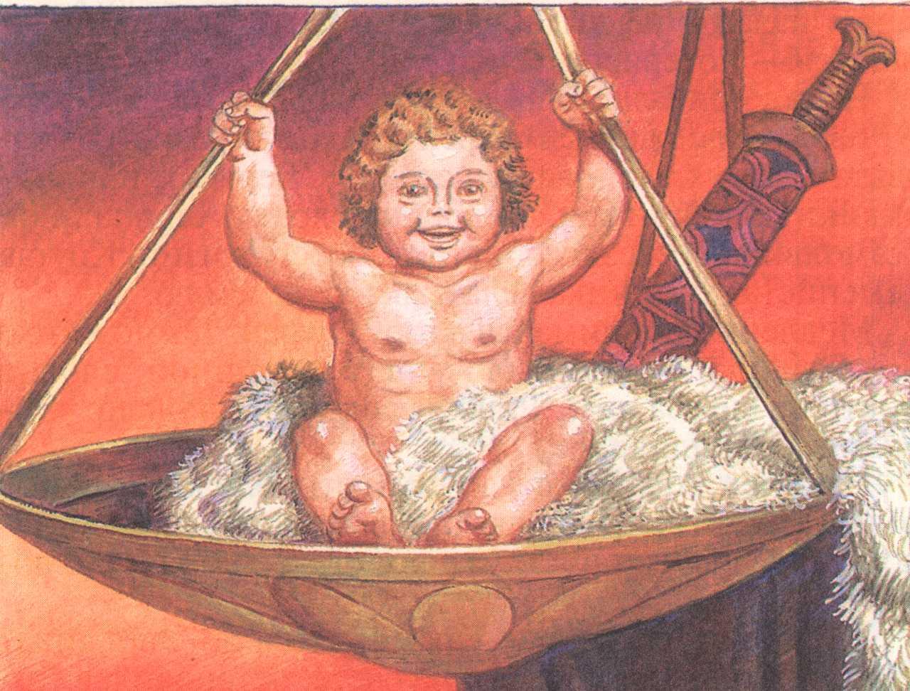 Картинки о рождении геракла