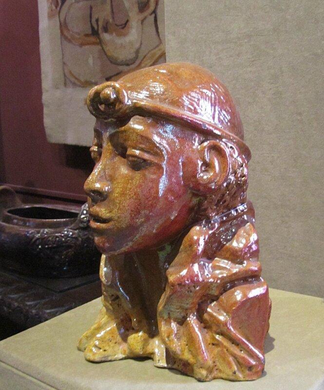 Врубель. Египтянка
