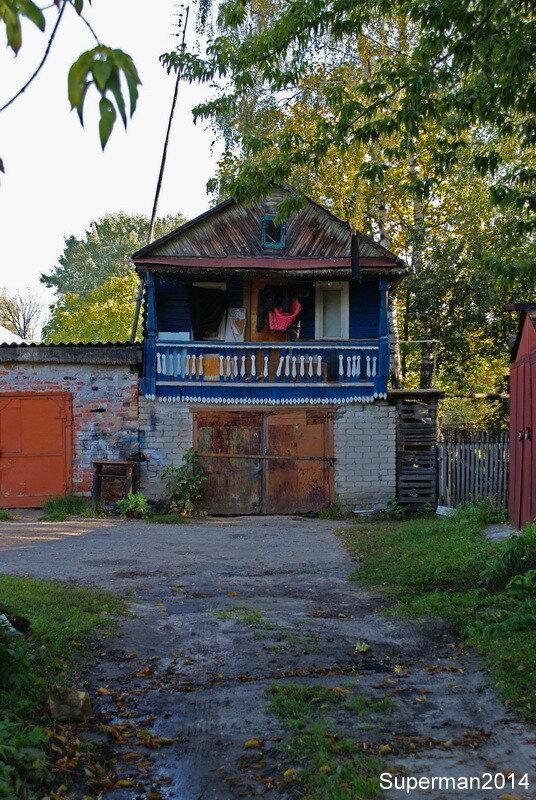село Ильинский Погост - гараж