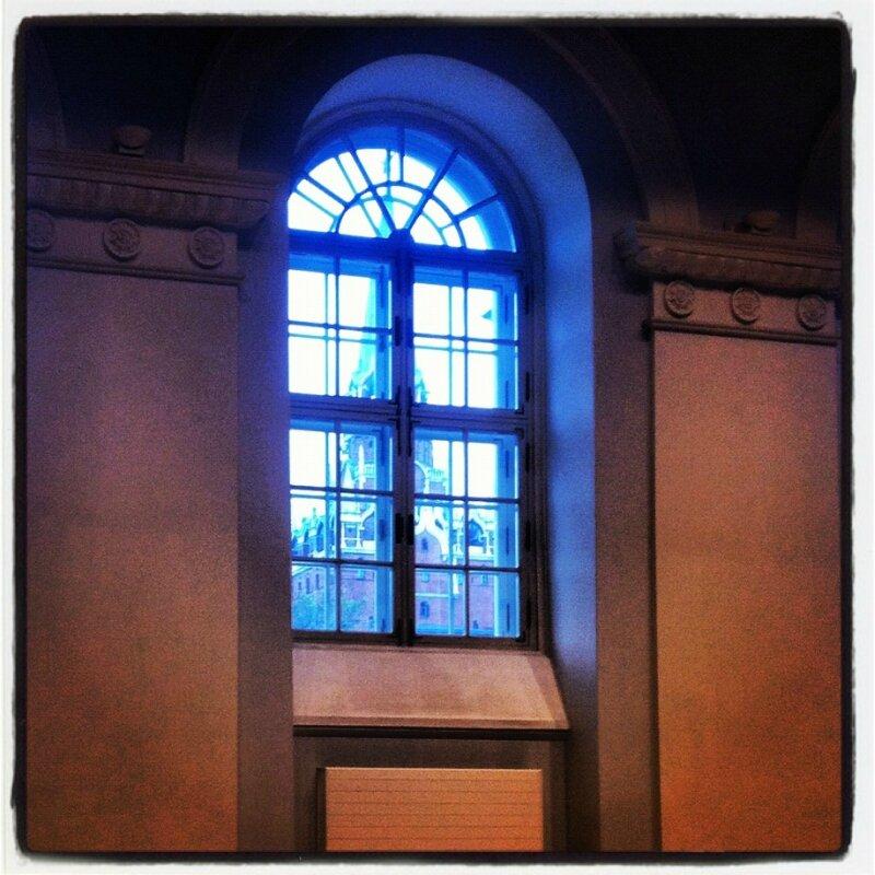 Полукруглые окна