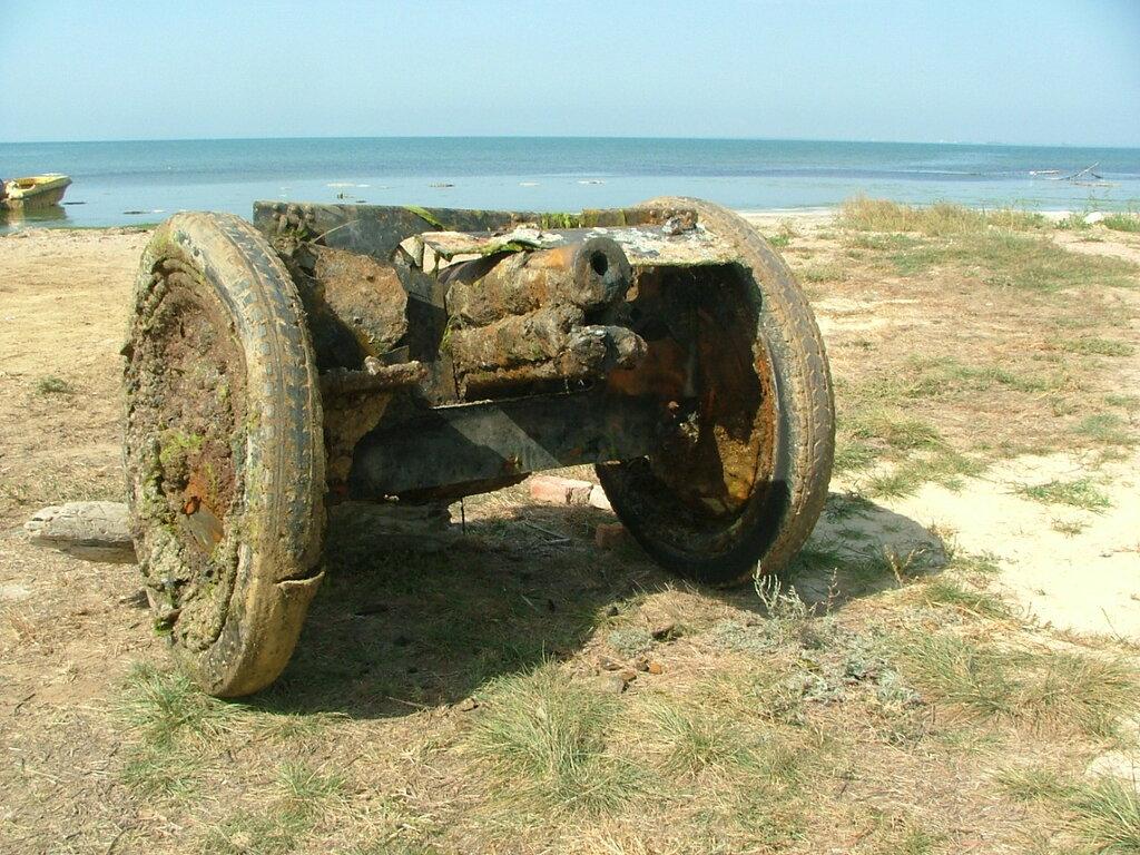 полковая пушка 1927 Эльтиген. 1.JPG