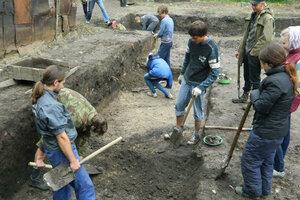 Новые археологические находки во Владимире