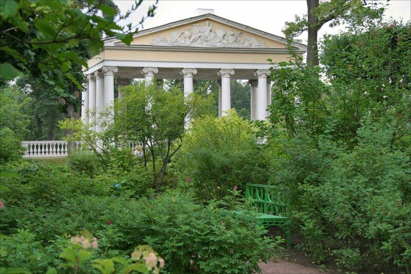 Собственный садик Марии Федоровны. Павильон Трех граций