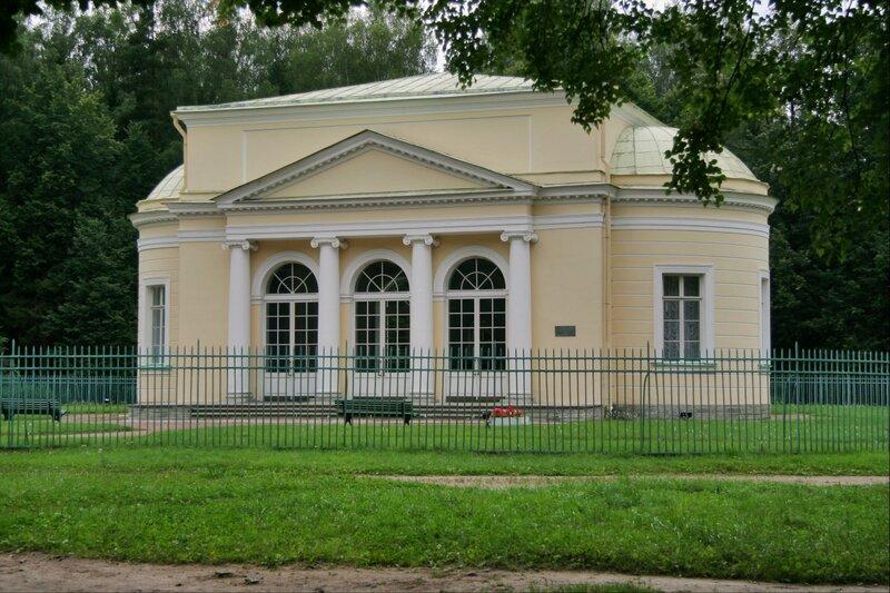 Круглый зал, Музыкальный салон, Павловский парк, Павловск