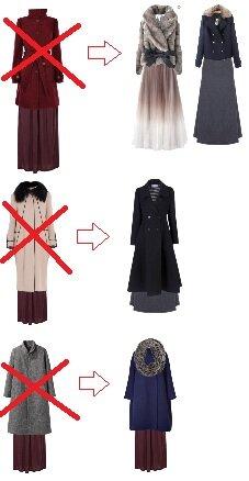 с какой длинной верхней одежды носить юбку миди несколько