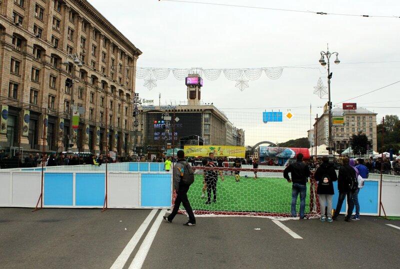 Футбольный турнир на Крещатике