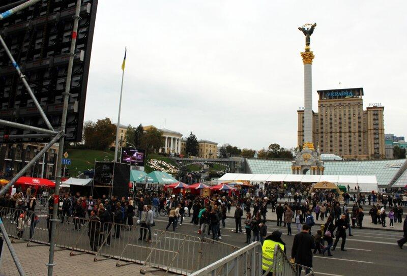 Жовтень Fest на Майдане Незалежности