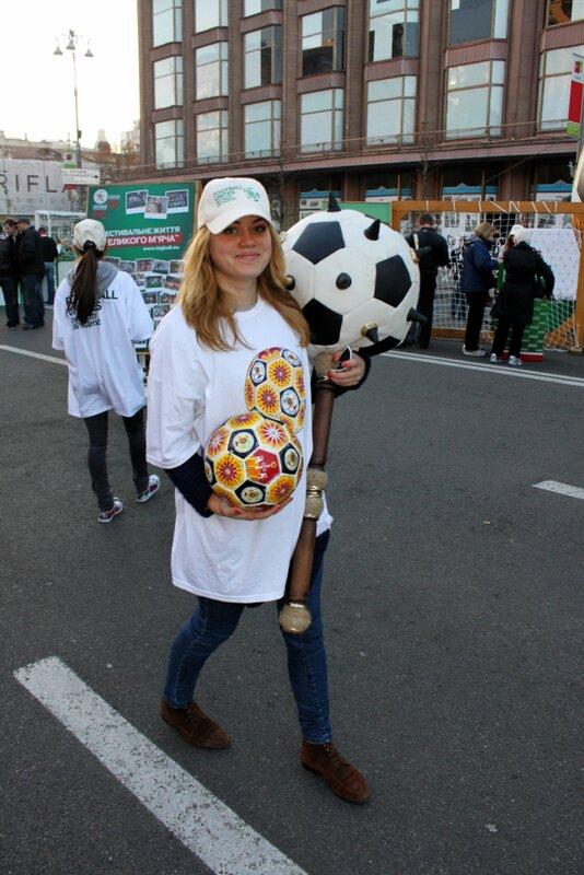 Фестиваль футбола на Крещатике