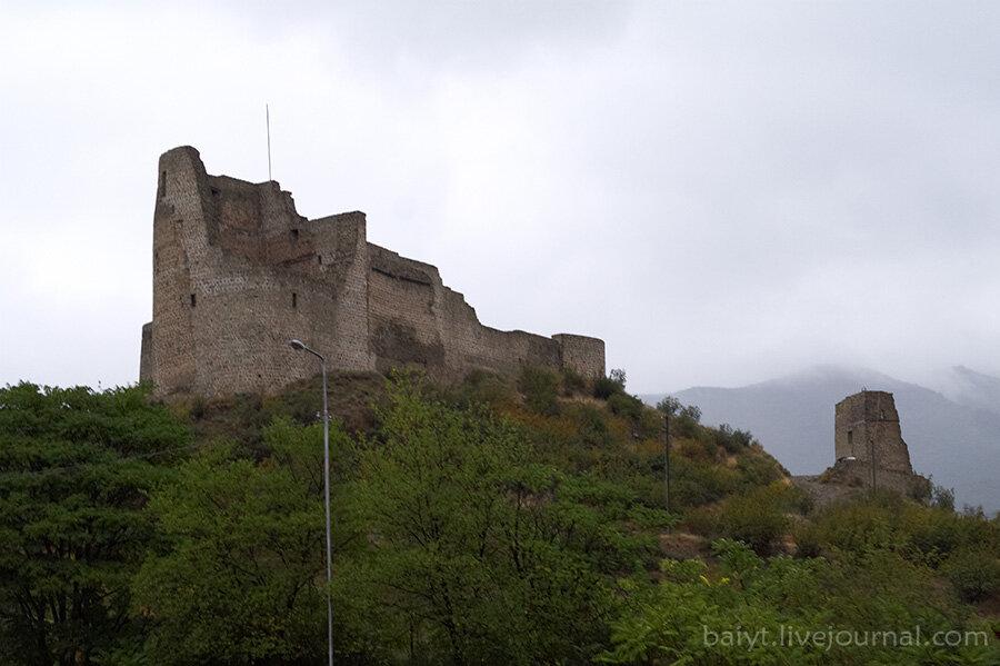 Бебрисцихе - крепость к северу от Мцхеты