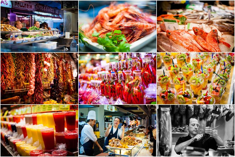 Рынок Барселоны (Испания 2012-10-17)