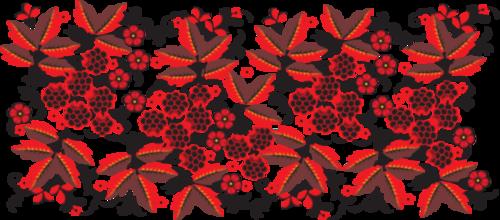 Декоративная роспись бордюрная