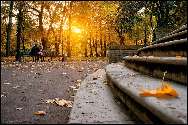 осенний михайловский сад