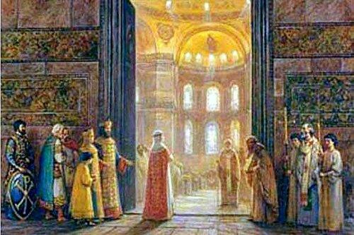 Ольга в Ромее