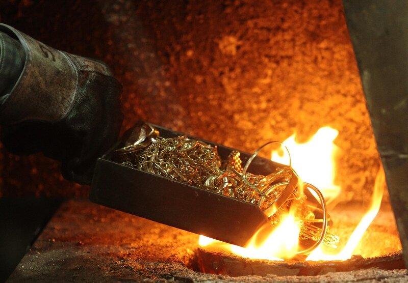 Сделать золото в домашних условиях