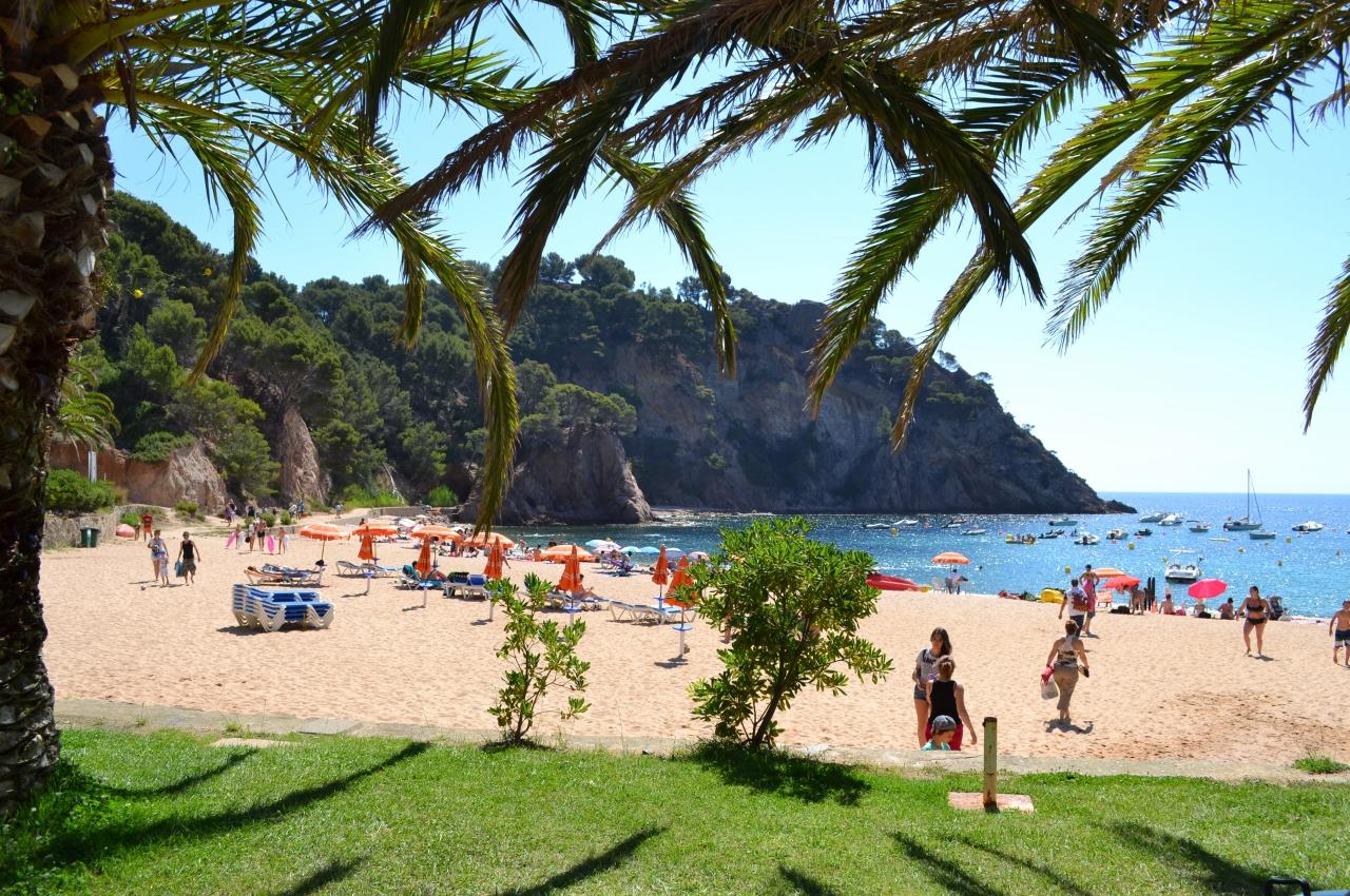 Маленький пляж