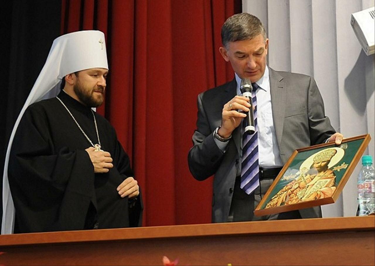 Митрополит Волоколамский Иларион избран заведующим кафедрой теологии Национального исследовательского ядерного университета «МИФИ»