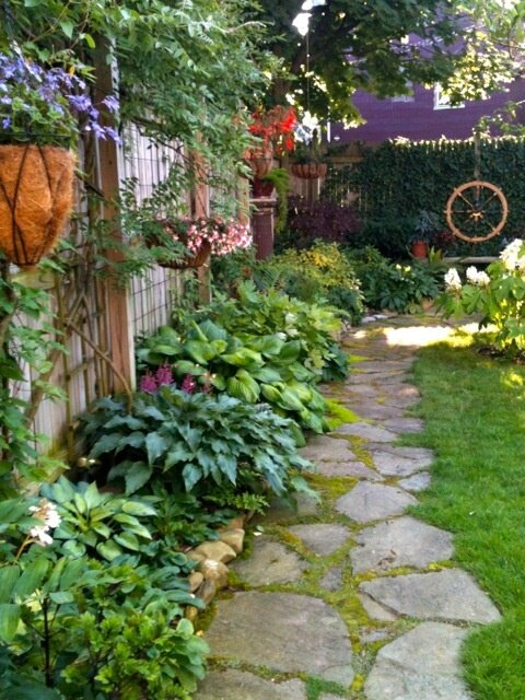 Landscaping Ideas For Shady Side Of House : Garden ideas