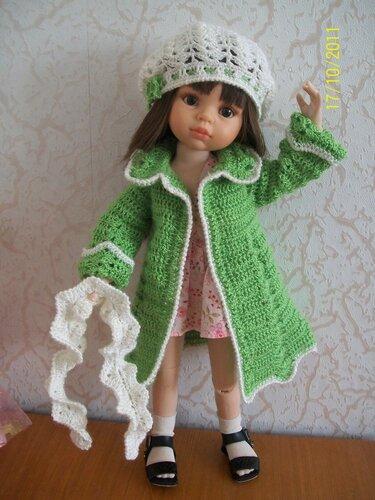 Вязание крючком на куклу 50 см