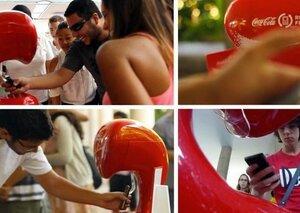 Coca-Cola подарит «мобильное» счастье страждущим