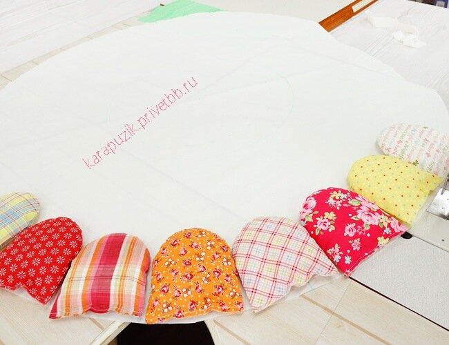Как сделать для кукол коврик