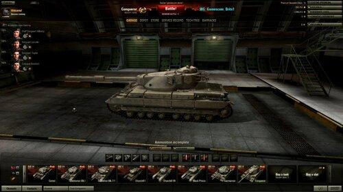 Conqueror танк