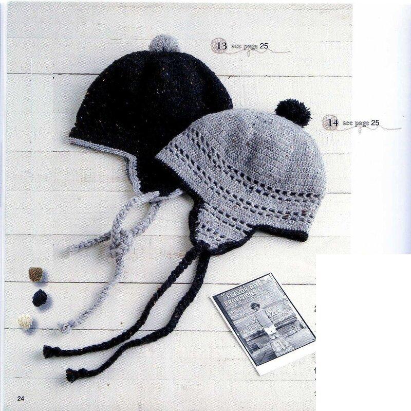 книга по вязанию шапки
