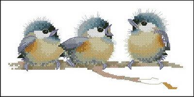 Схемы.  Птенчики 2.