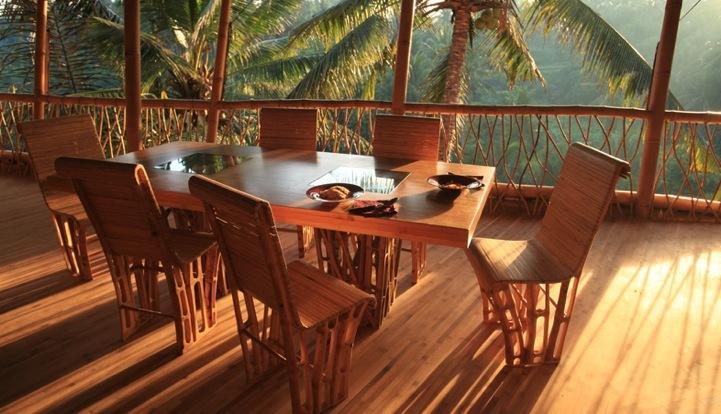 Сверхэкологичные бамбуковые дома Cмотрите дальше