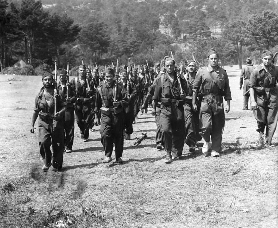 Разгрома сил франко барселона 1936 год