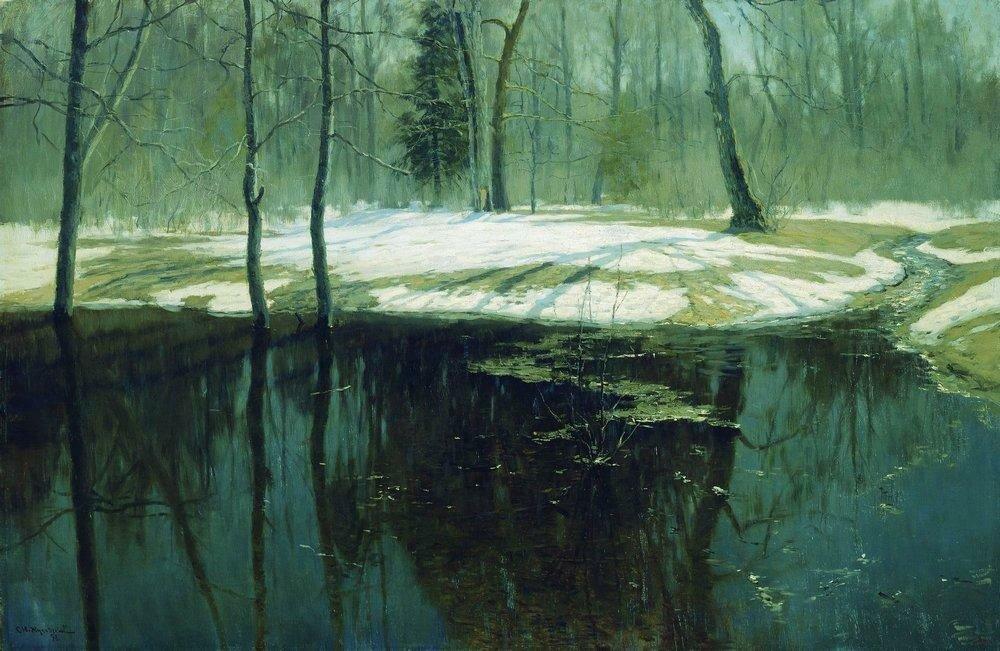 Весенняя вода. 1898.jpg