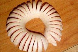 Как сделать из сосиски цветок фото 499