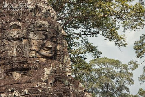 лица храма Байон, Bayon