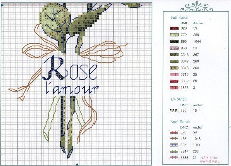 роза - схема 2