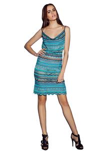 Морские камушки - платье-конфетка от Cecilia Prado