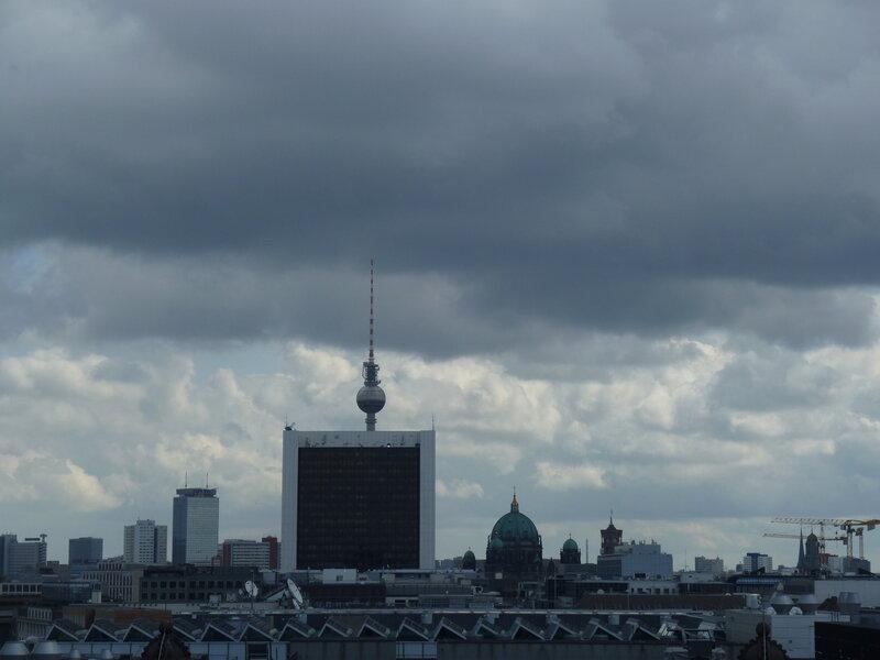 Вид на Восточный Берлин