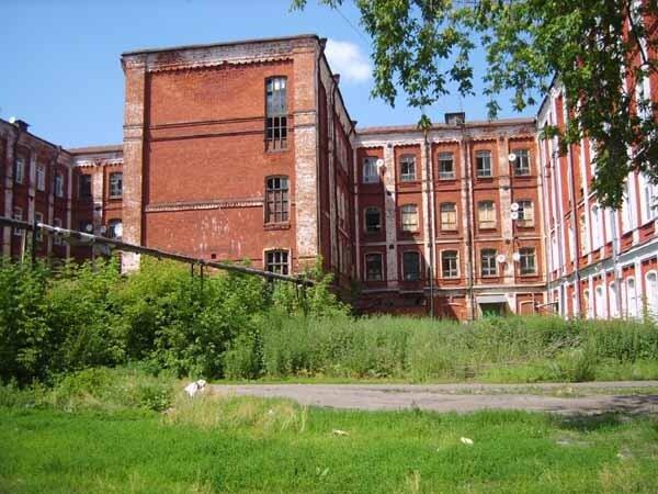 Казармы ткацкой фабрики