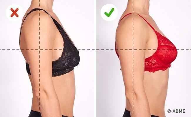 Бюстгальтер должен нетолько поддерживать грудь, ноиприподниматьее. Проведите простой тест, котор