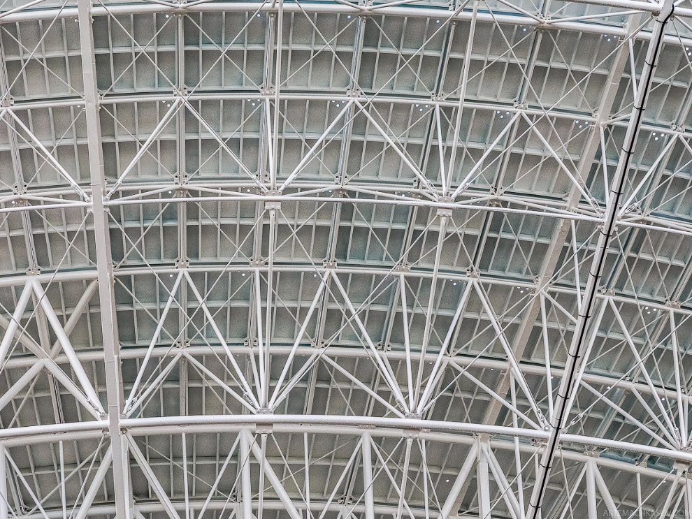 18. До недавнего времени внутрь телескопа водили экскурсии. Но с ускорением темпов реконструкции рад