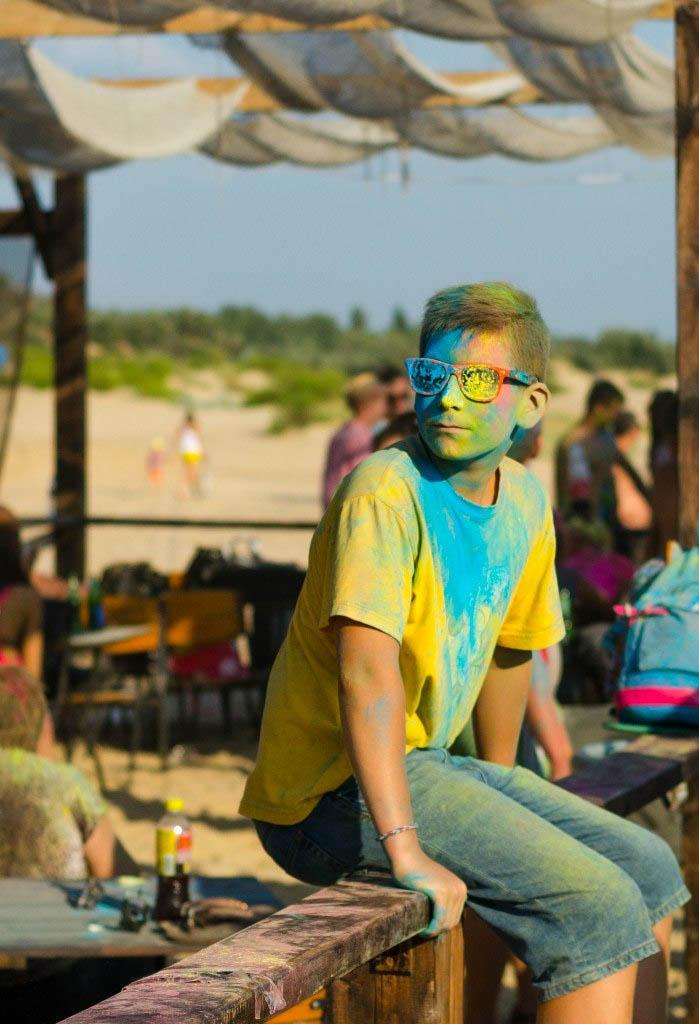 Фестиваль красок в Витязево