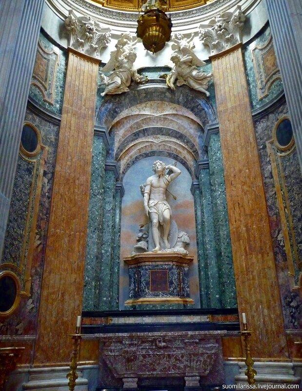 Chiesa di Sant´Agnes. Боковая капелла.