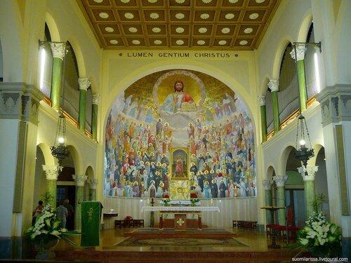 Italia. Riccione. Parrocchia di S. Maria Mater Admirabilis