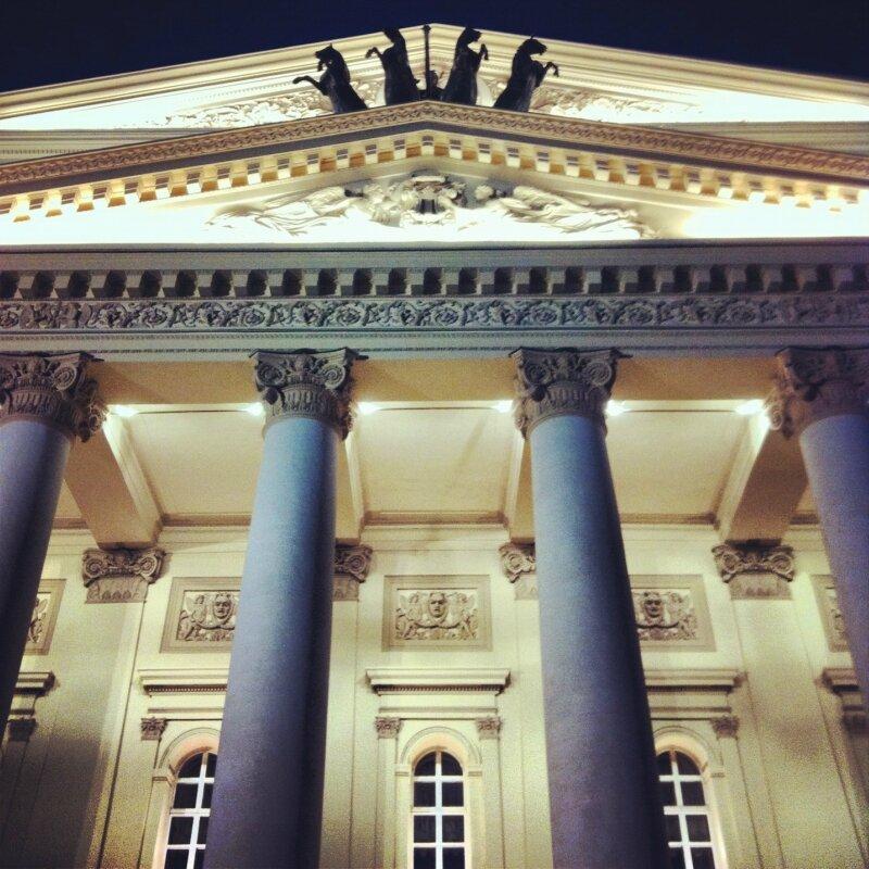 Колонны Большого театра