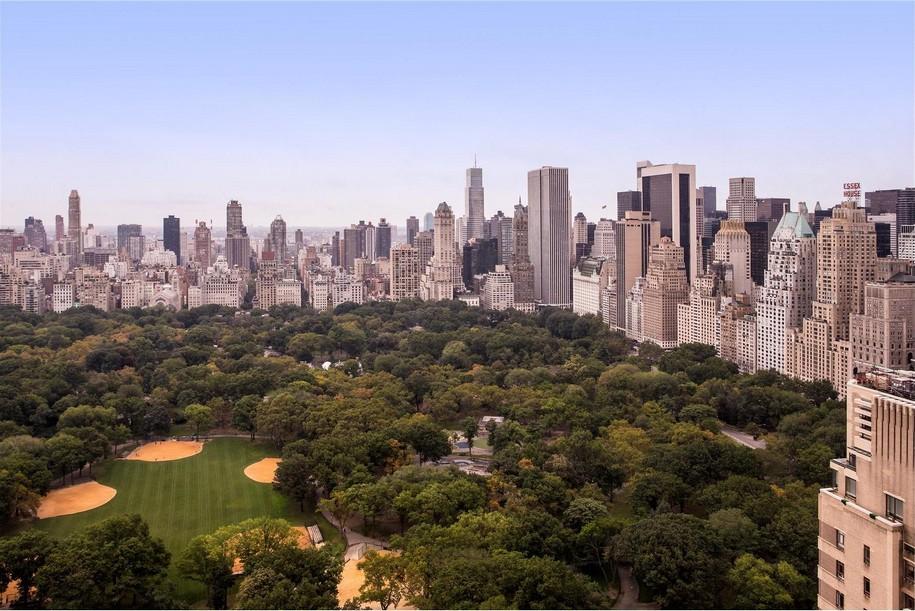 Пентхаус с видом на Центральный Парк в Нью-Йорке