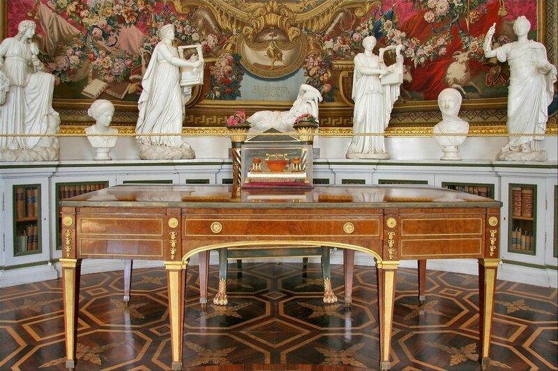 Павловский дворец, Библиотека императрицы Марии Федоровны