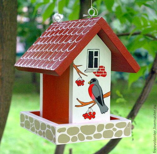 Как украсить кормушки для птиц