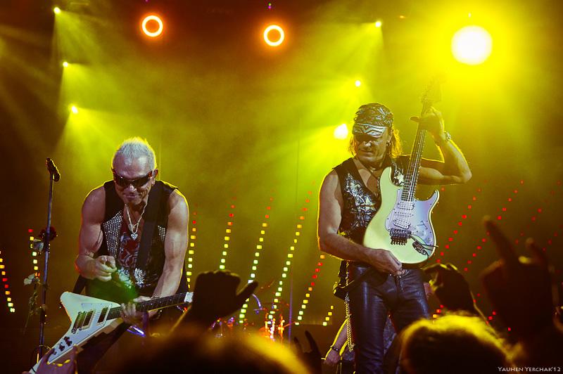 Scorpions в Минске, фото